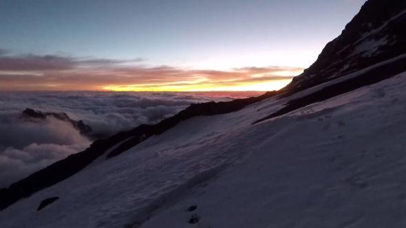Around 5am on summit day