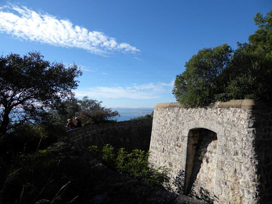 Fort on Mont Boron