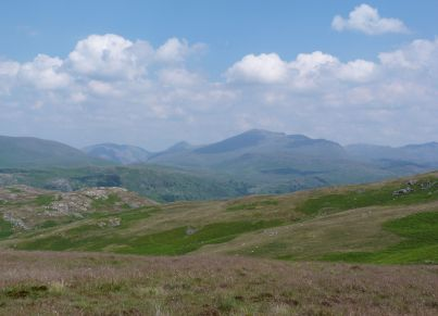 Scafell from Devoke Water