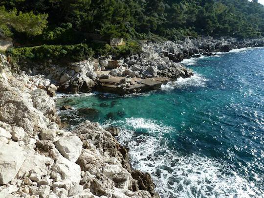 Villefranche cliffs