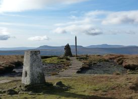 Buckden Pike summit