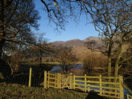 Skiddaw and the Rawthey