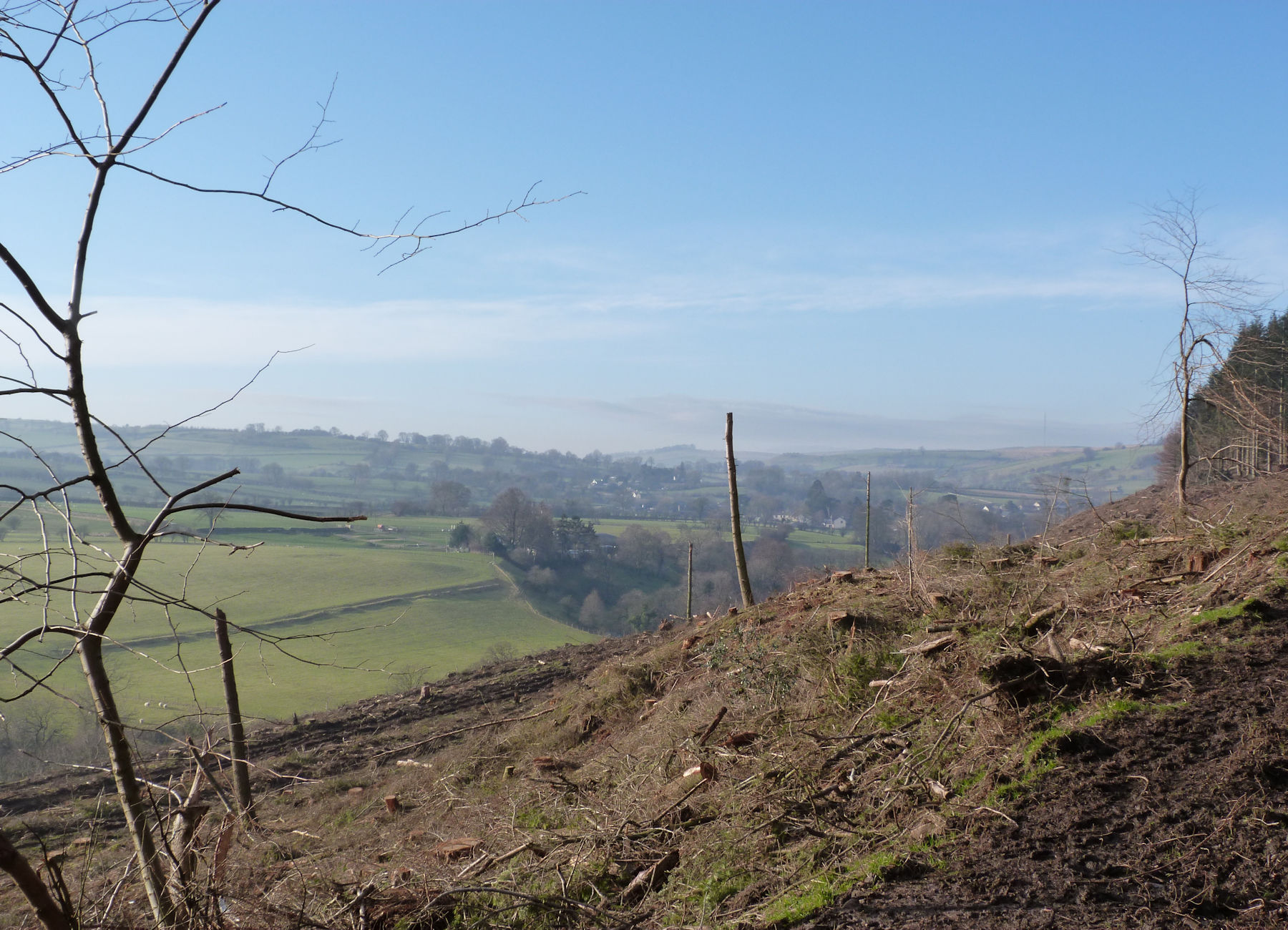 Views west over Caldbeck