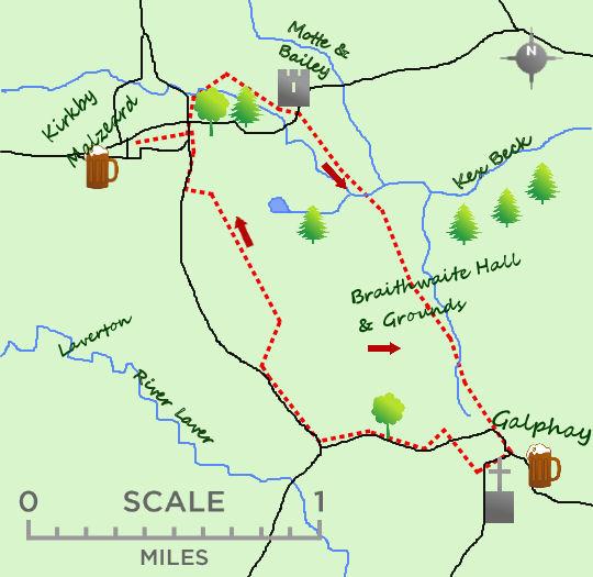 Kirkby Malzeard map