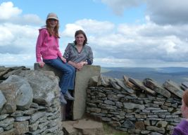 Whernside summit