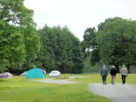 Camping at Coniston Hall