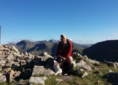 High Crag summit