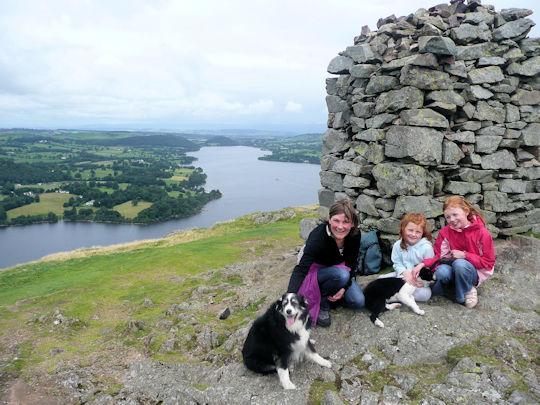 Summit of Hallin Fell