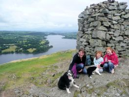 Summit of Hallin Fell