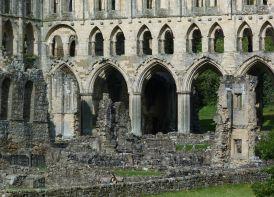 Cloisters at Rievaulx Abbey