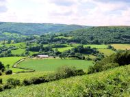 Hawnby from Easterside Hill