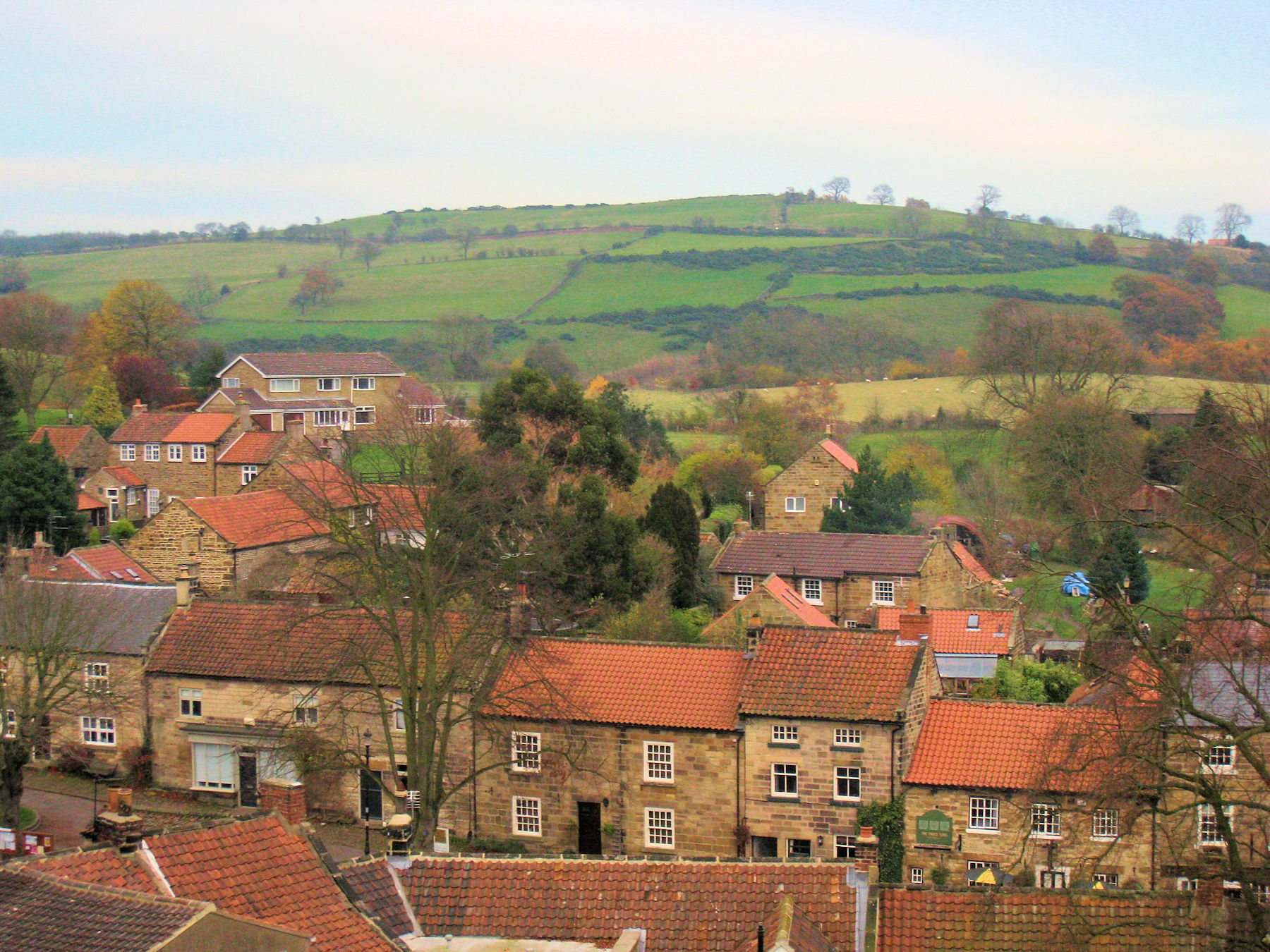 Osmotherley from Clock Tower
