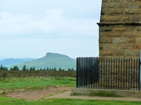 Roseberry Topping from Captain Cook