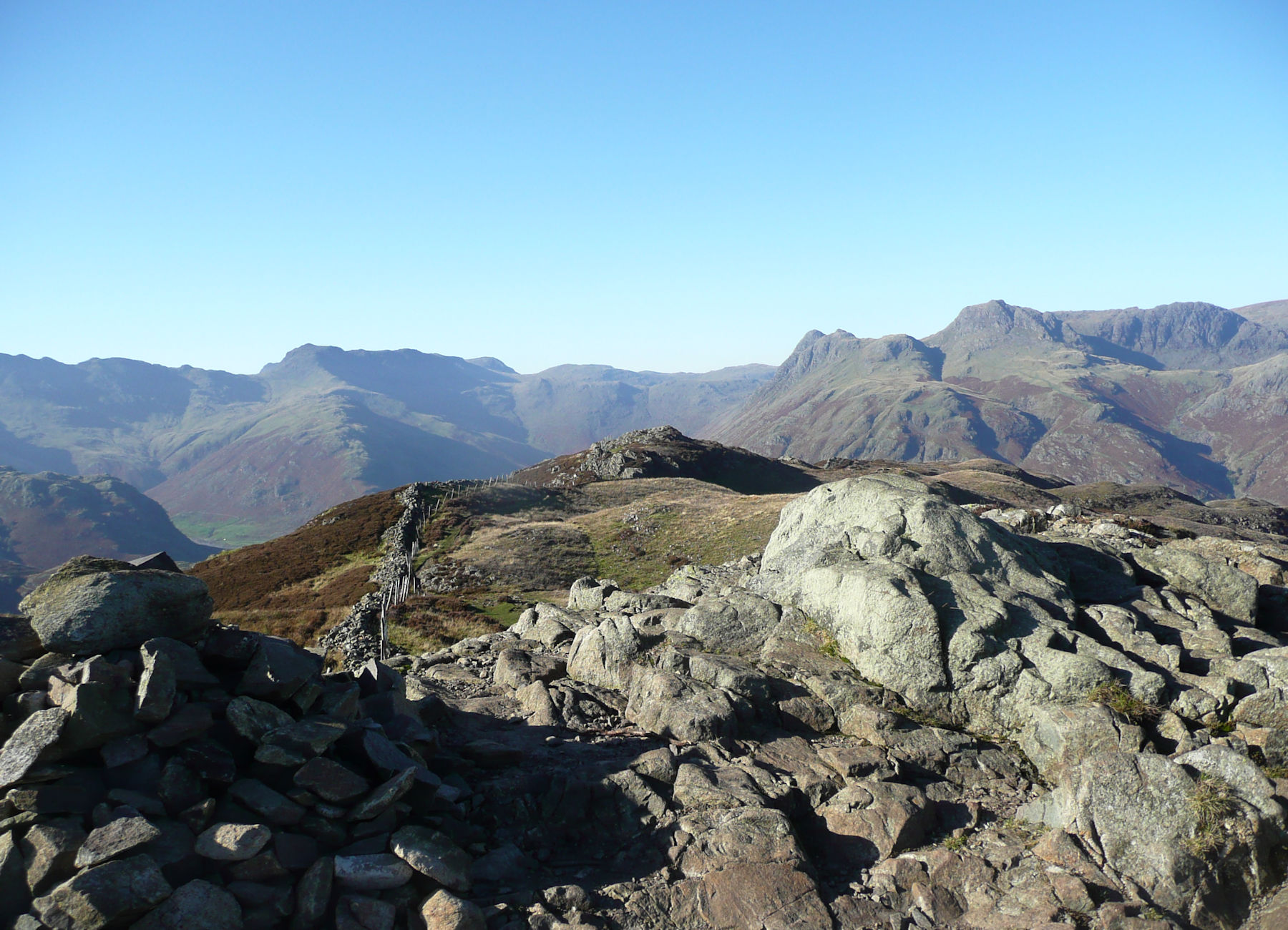 Summit Lingmoor Fell