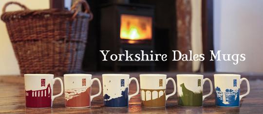 Yorkshire Dales china mugs