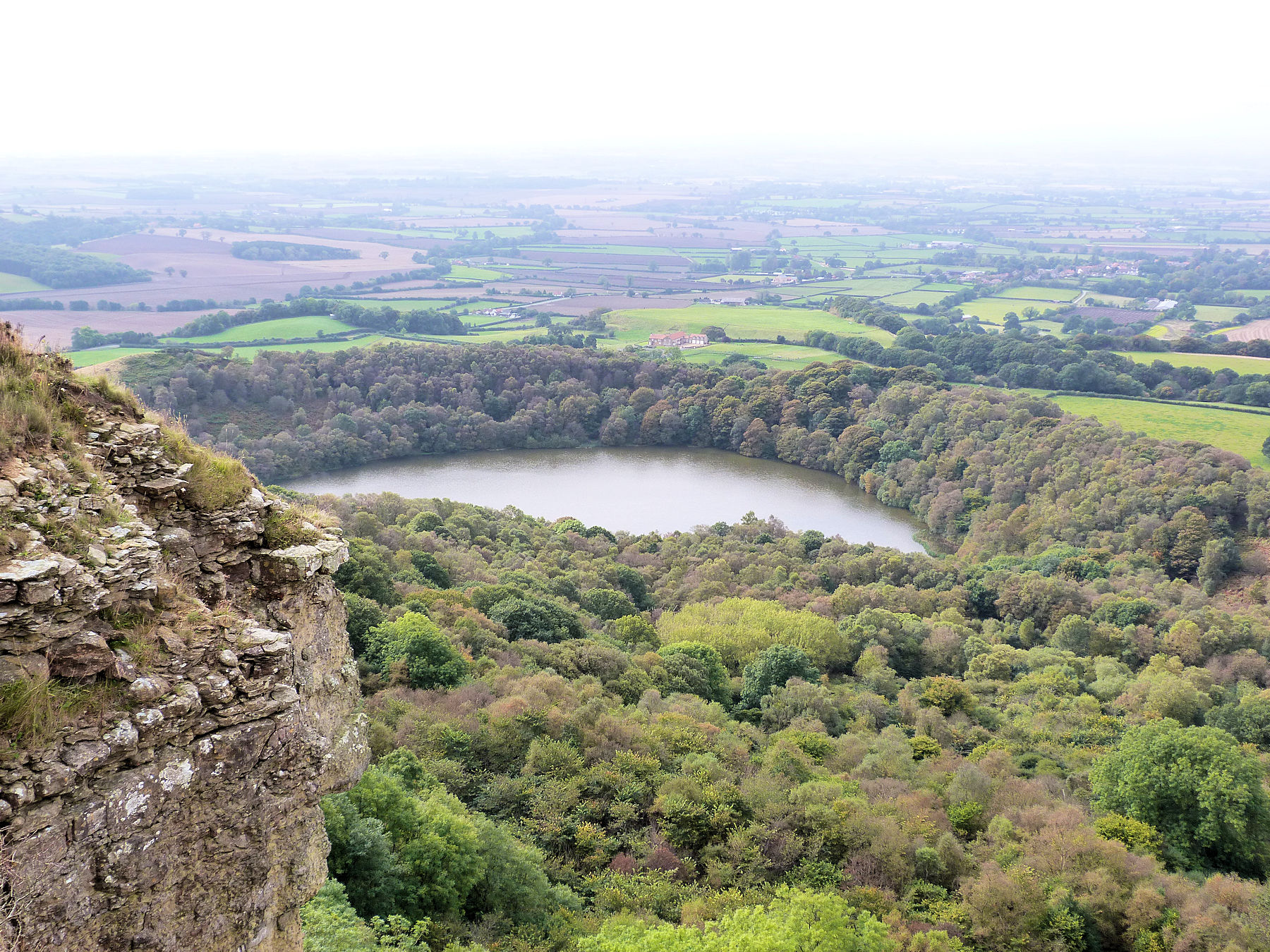 Gormire Lake from the Cleveland Way