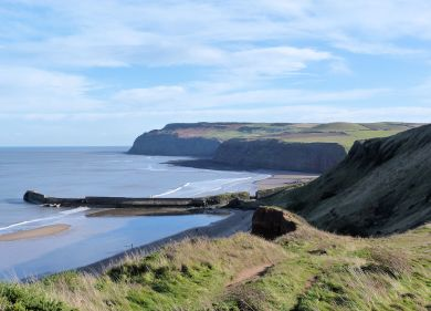 Old harbour at Skinningrove