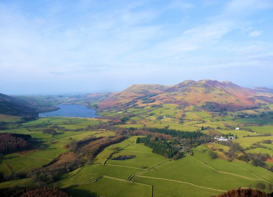 Loweswater from Mellbreak