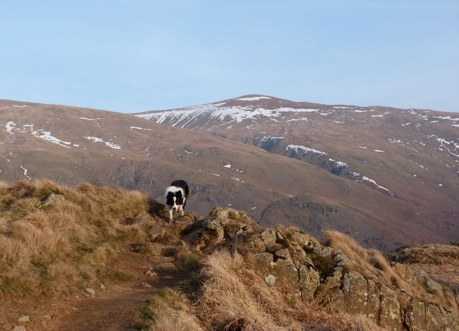 Helvellyn from High Rigg