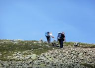 Final slopes Scafell