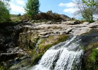 Waterfalls under Gowbarrow