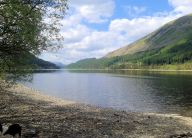 North up Thirlmere