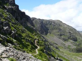 Climbers Traverse, Bowfell