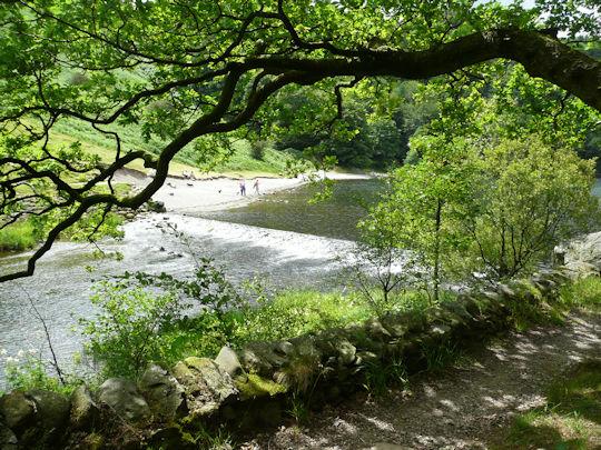 Weir at Baneriggs