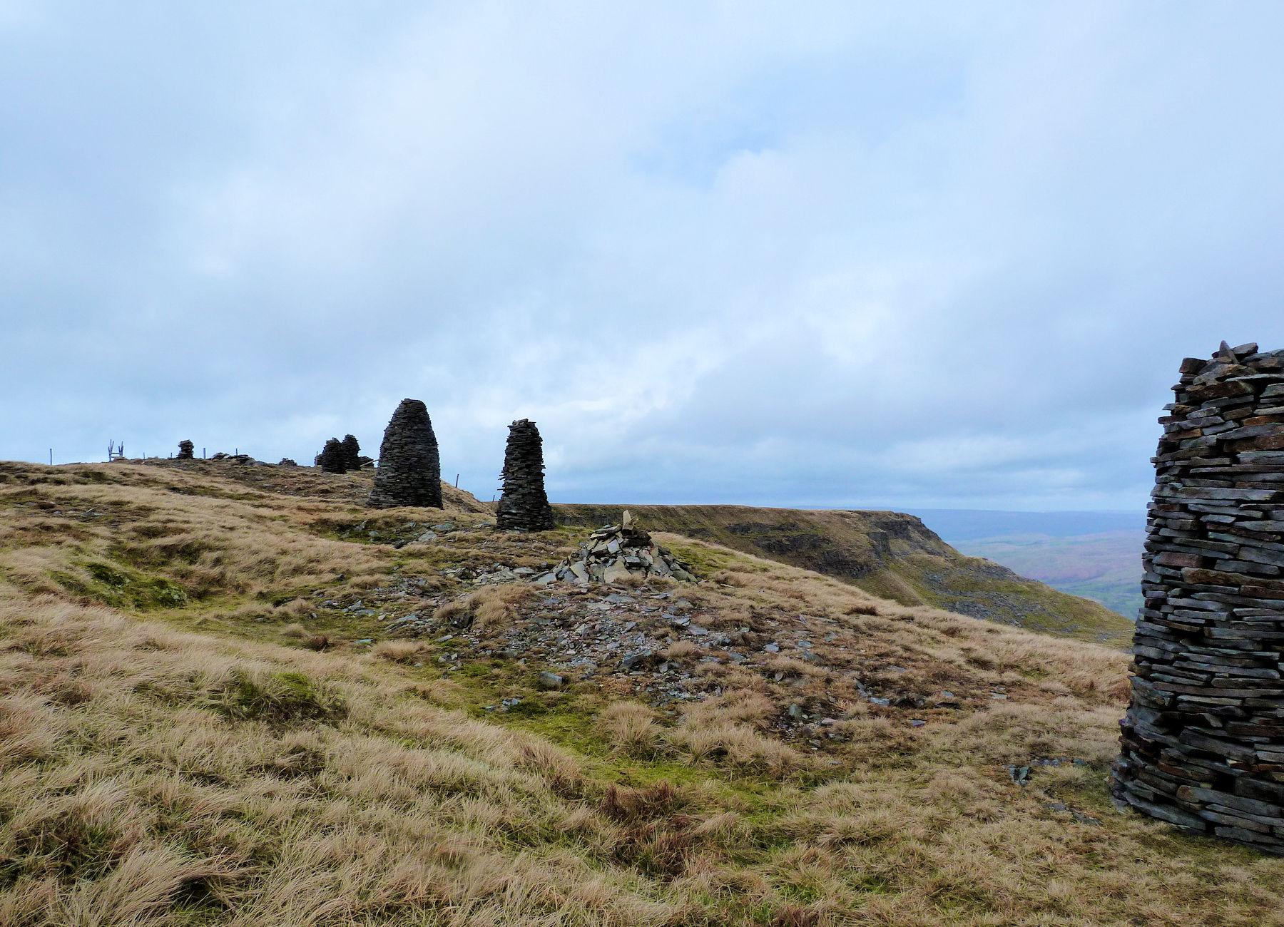 Standing Stones, summit