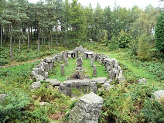 Druids Temple, Masham