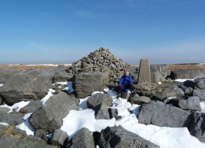 Great Whernside summit