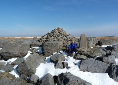 Great Whernside summit