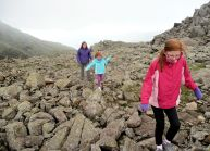 Near Scafell Pike summit