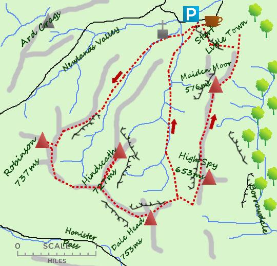 Newlands Round map