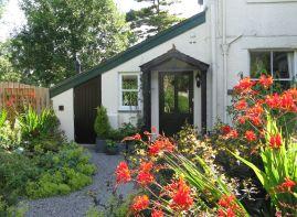 Croft Corner entrance and garden