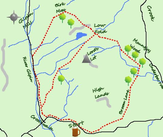 Crosthwaite Map