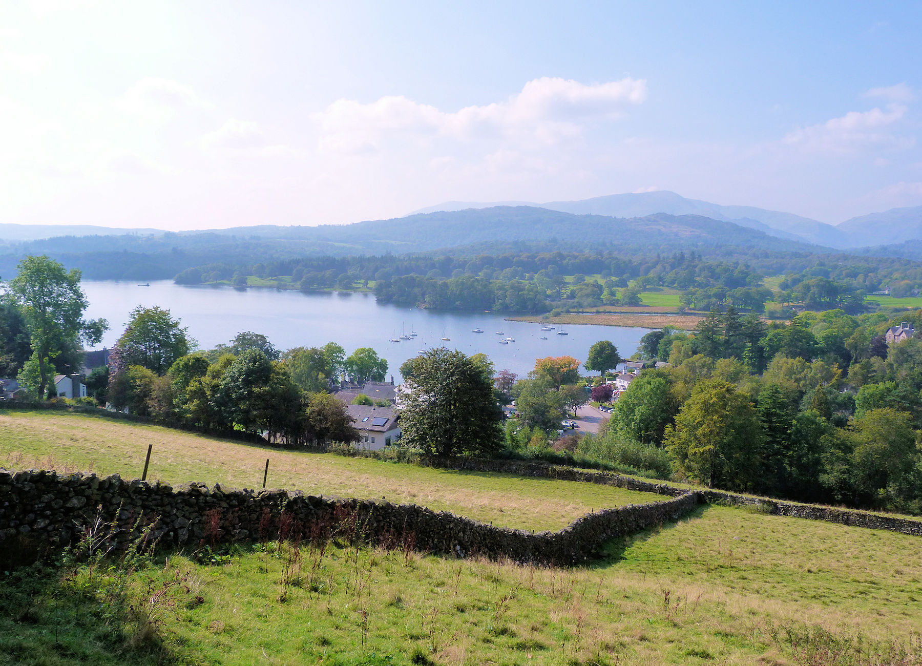 Windermere from Wansfell