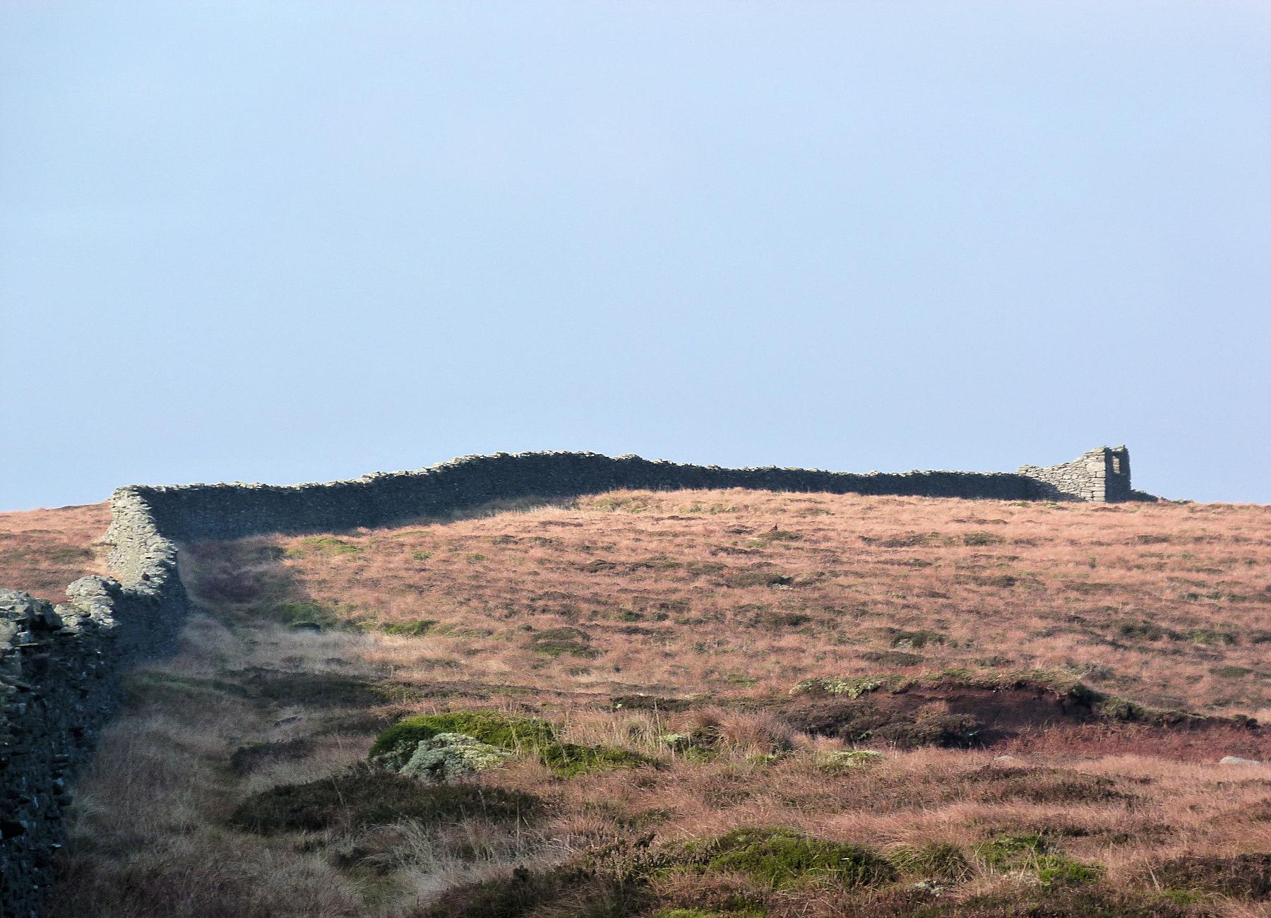 Near the high point