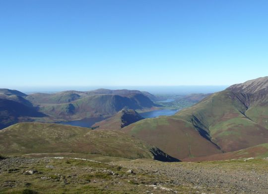 Crummock from Robinson