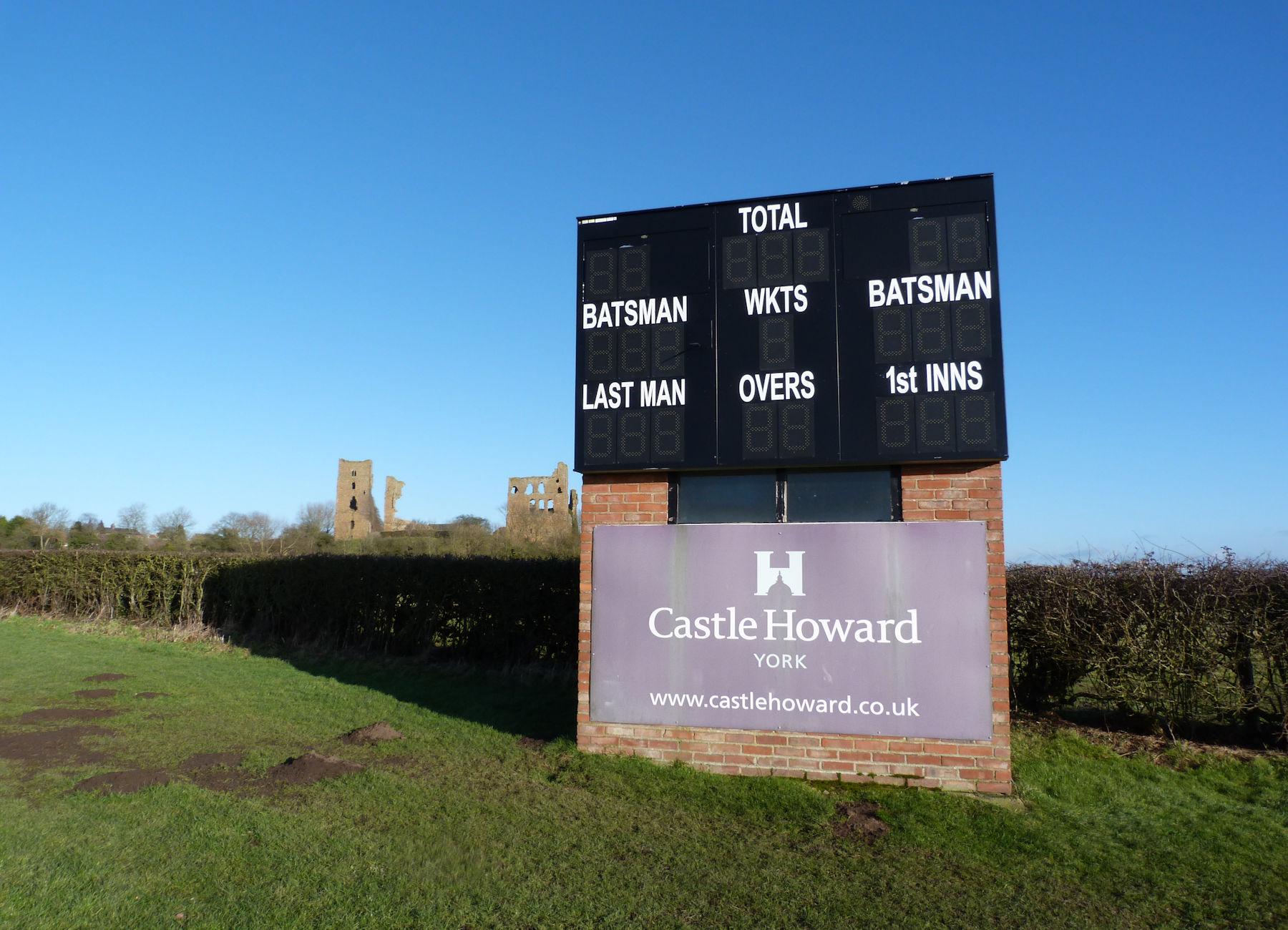 Cricket at Sheriff Hutton