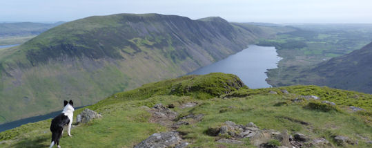 Wastwater from Yewbarrow