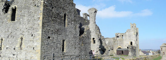Ruins of Middleham Castle