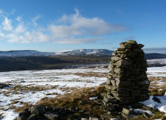 Little Fell signature cairn