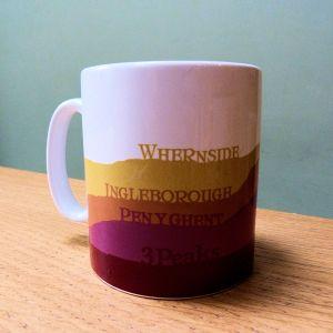 Yorkshire 3 Peaks Mug