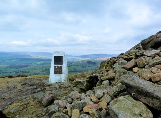 Beamsley Beacon Trig and Cairn