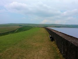 Dam at Grimwith Reservoir