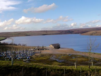 Grimwith Reservoir Sailing centre
