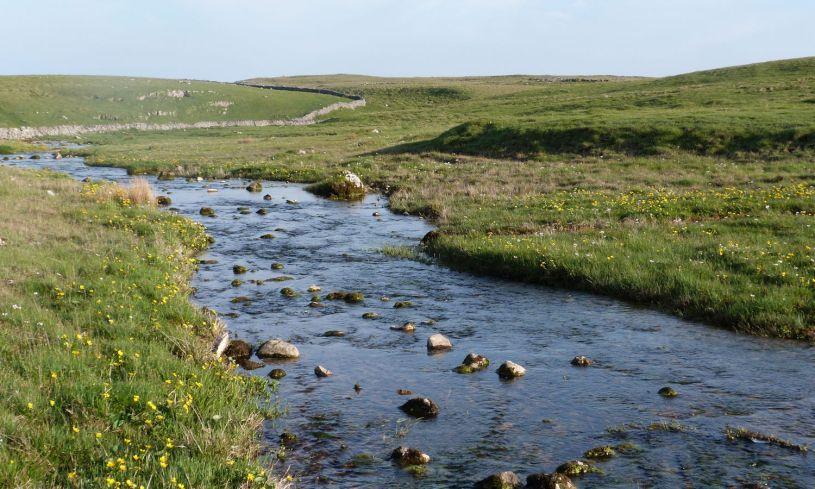 Water Sinks, Malham Tarn
