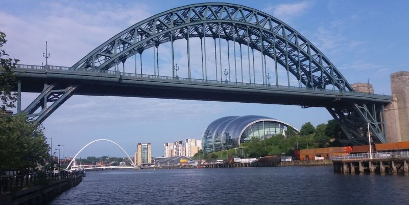 Tyne Bridge and the Sage