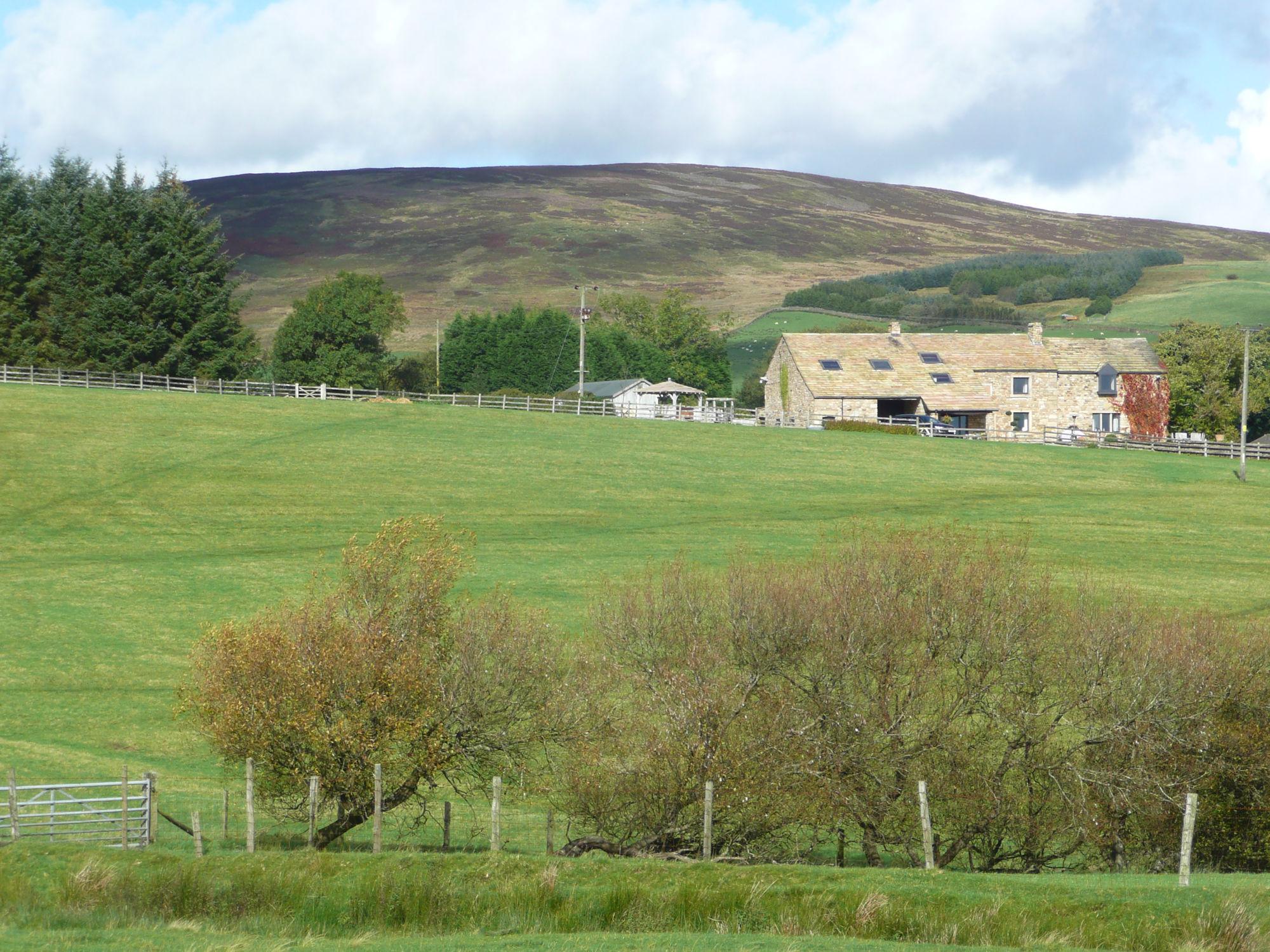Farmland near Whitewell